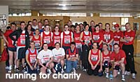 running for charity with Running Crazy