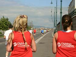 run for the children in crossfire charoty with running crazy limited