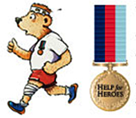 run for help for heroes with Running Crazy limited