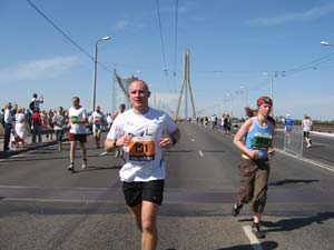 riga marathon with running crazy 2009