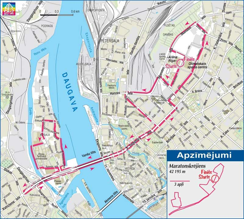Riga Latvia Marathon and Half Marathon Running Crazy Limited